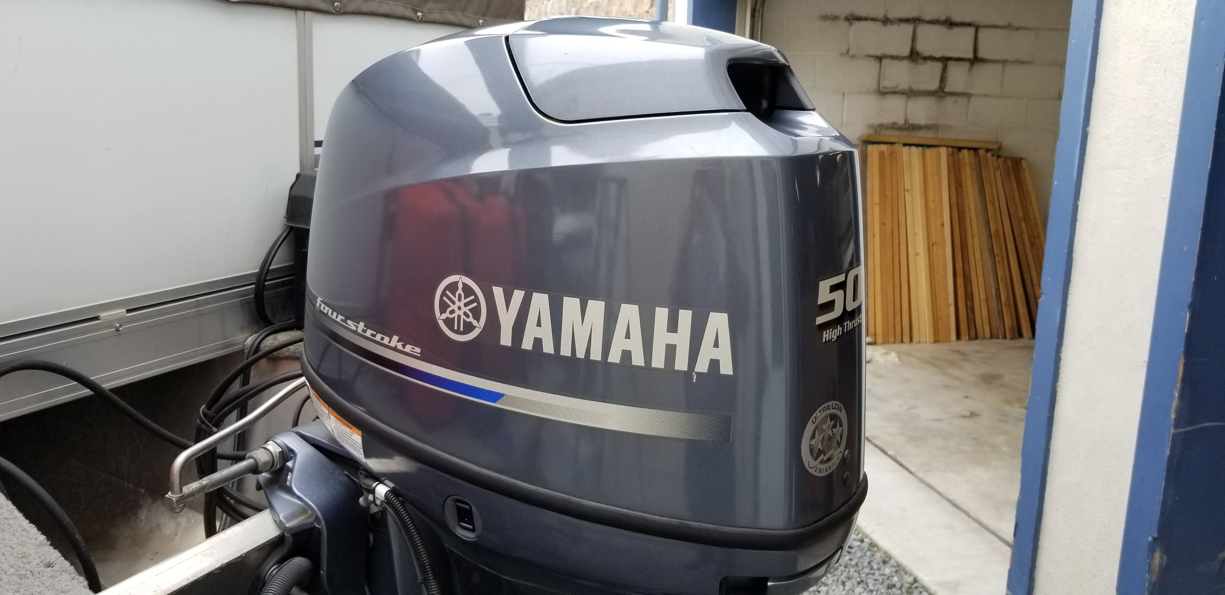 YAMAHA 50 HIGH TRUST FOUR STROKE