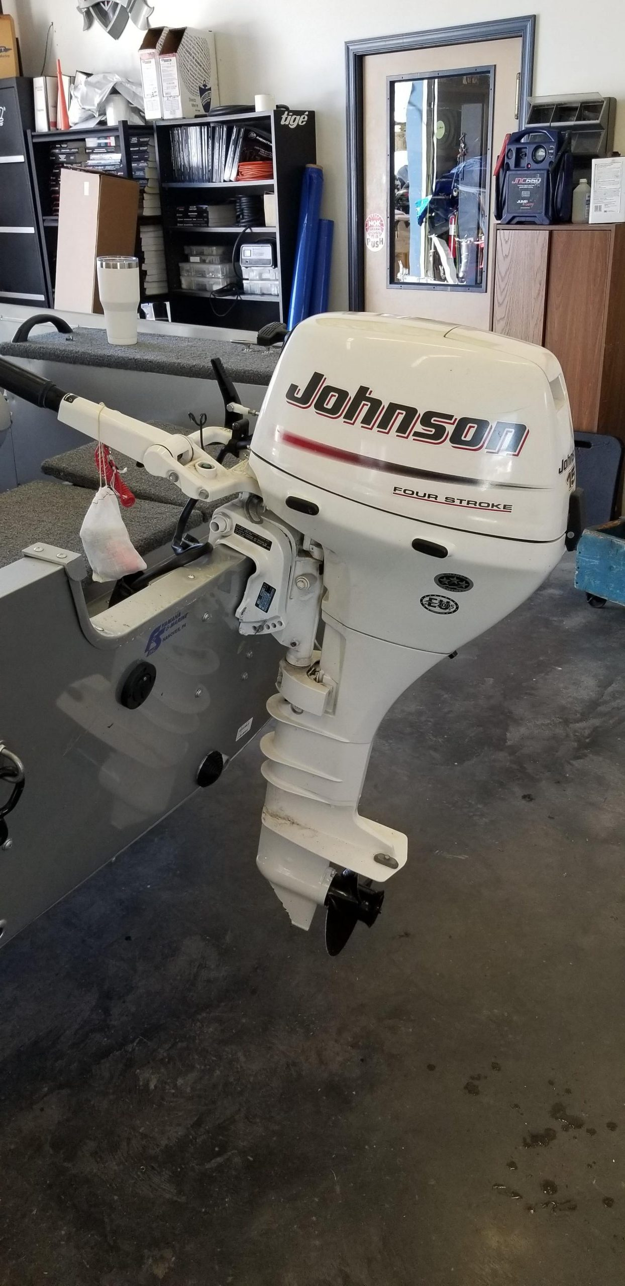 2006 JOHNSON 4 STROKE